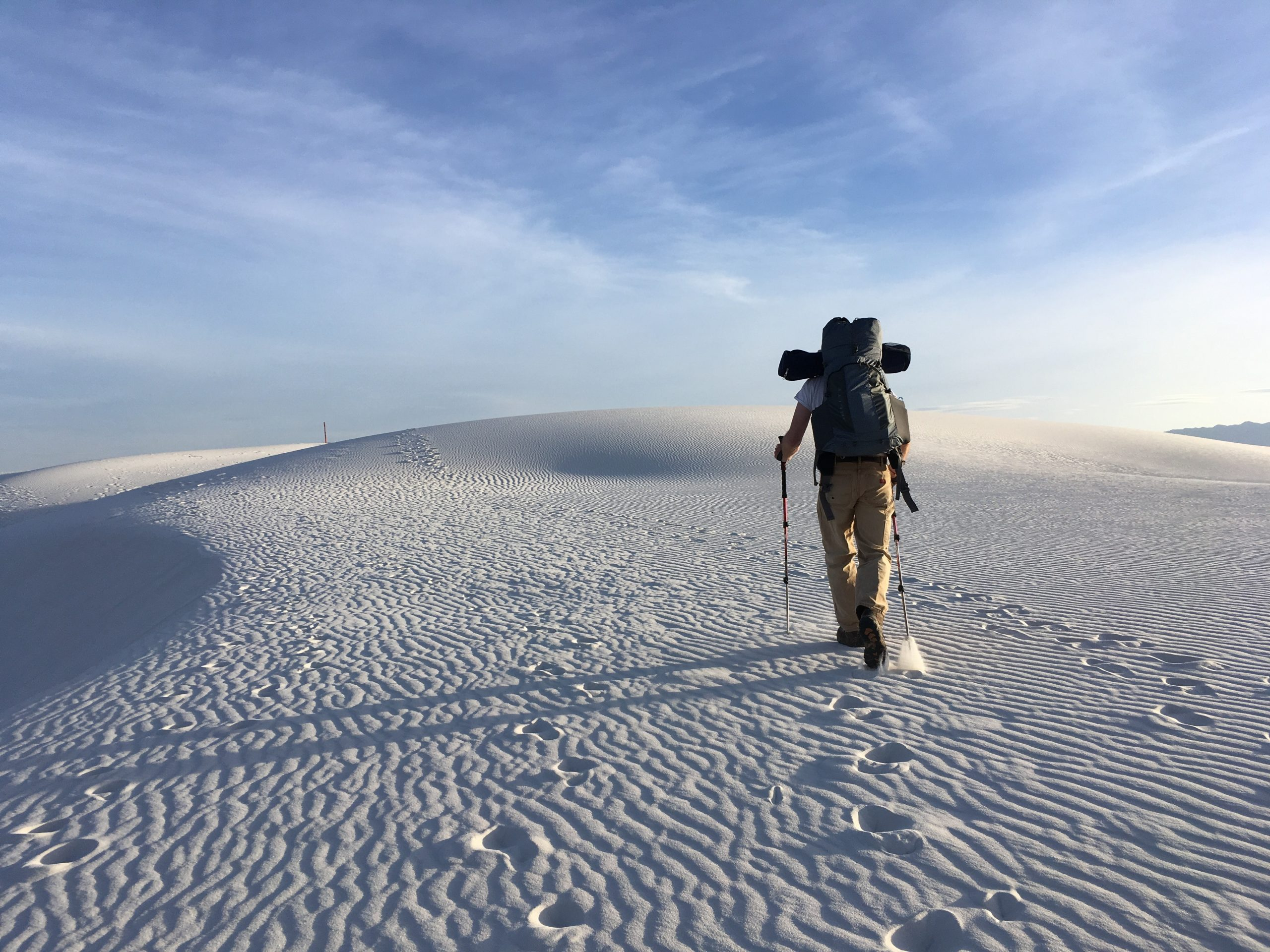 Using rucking to train for an expedition